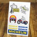 ステッカーセット 車 ミシュラン アメリカン おしゃれ バイク ヘルメット かっこいい タイヤ フランス カーステッカー Michelin エンブレム ビバンダム ミシュランマン 9枚セット 【メール便OK】_SC-R660-TMS