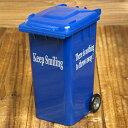 ショッピングごみ箱 ペンスタンド おしゃれ 小物入れ ゴミ箱 ブルー アメリカ アメリカン雑貨_SR-003BL-HYS