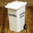 ショッピングごみ箱 ペンスタンド おしゃれ 小物入れ ゴミ箱 ホワイト アメリカ アメリカン雑貨_SR-003WH-HYS