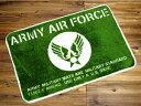 ショッピング玄関マット US ARMY 玄関マット 室内 屋内 おしゃれ ミリタリー フロアーマット バスマット アメリカ 雑貨 アメリカン雑貨 アメリカ陸軍 ARMY AIR FORCE_FM-010-SHO