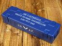 ショッピングFORCE ミリタリー ペンケース おしゃれ スチール製 US AIR FORCE アメリカ空軍 ネイビー アメリカ アメリカン雑貨_SN-007-FEE
