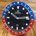 ショッピング 掛け時計 おしゃれ 世田谷ベース アメリカン パロディ ラリックス RAREX ブルー_CK-002BL-SHO