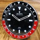 ショッピング 掛け時計 おしゃれ 世田谷ベース アメリカン パロディ ラリックス RAREX ブラック_CK-002BK-SHO