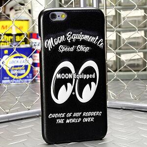 ムーンアイズiPhone6ケース(カバー)MOONEYESレザー製3Dジャケット