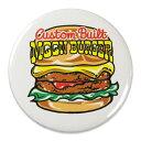 ショッピングレシピ ムーンアイズ マグネット おしゃれ かわいい かっこいい アメリカ ホットロッド アメリカ アメリカン雑貨 MOONEYES 缶マグネット MOON Burger 【メール便OK】_SN-MGX012-MON