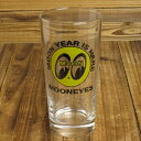 ショッピングタンブラー ムーンアイズ グラス コップ おしゃれ ホットロッド MOONEYES アメリカ アメリカン雑貨_TW-CA001-MON