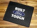 フォード フロアマット 汎用 ラバーマット 車 カーマット カー用品 カーアクセサリー FORD 後部座席用 1枚 BUILT TOUGH_UM-IGP1013-MON