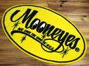 ショッピング玄関マット ムーンアイズ 玄関マット 室内 屋内 おしゃれ フロアーマット バスマット MOONEYES アメリカ 雑貨 アメリカン雑貨 オーバル_FM-MG458MO-MON