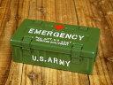 ミリタリー 小物入れ 収納 アンモボックス 救急箱 エマージェンシーケース US ARMY アメリカ陸軍_SR-026-FEE