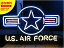 ショッピングFORCE ネオンサイン ネオン 看板 電飾看板 ライト インテリア アメリカン 店舗 ショップ 世田谷ベース ミリタリー アメリカ空軍 US AIR FORCE 1_NS-012-SHO