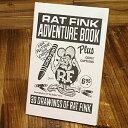 ラットフィンク コミック エド・ロスコミック Rat Fink アドベンチャーブック 【メール便OK】_BK-RB02BKRA-MON