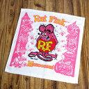 ラットフィンク ハンドタオル RAT FINK ピンク アメリカ アメリカン雑貨 【メール便OK】_TO-RAF380PK-MON