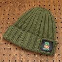 ショッピング ラットフィンク(RAT FINK) ワッチ(ウォッチ)キャップ(帽子) ニット帽 オリーブ 【メール便OK】_CP-RICF046OL-MON(P20Aug16)