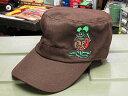 ショッピング ラットフィンク ワークキャップ(帽子) Rat Fink ブラウン_CP-RICF048BR-MON(P20Aug16)
