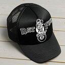 ショッピング ラットフィンク 帽子 メッシュキャップ Rat Fink 8ボール ホワイト_CP-RICF050BW-MON(P20Aug16)