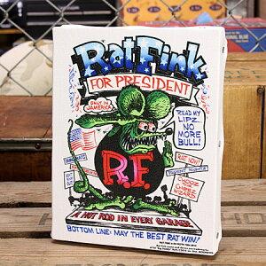 ラットフィンクポスターキャンバスパネルRatFinkPRESIDENTサイズS