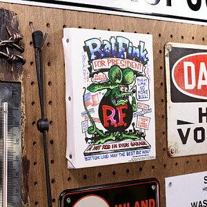 ラットフィンクポスターキャンバスパネルRatFinkPRESIDENTサイズSの使用例