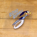 ロードランナー ステッカー ルーニー・テューンズ 車 アメリカン キャラクター おしゃれ バイク ヘルメット かっこいい 鳥 ホットロッド アメ車 カーステッカー O 【メール便OK】_SC-790656-FEE