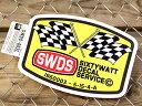 ステッカー 車 アメリカン 世田谷ベース かっこいい シックスティーワット カーステッカー サイズL 【メール便OK】_SC-SWDS002L-SXW