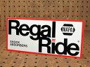ショッピングREGAL ステッカー 車 アメリカン おしゃれ バイク ヘルメット かっこいい カーステッカー リーガル・ライド Regal Ride 【メール便OK】_SC-L997-SXW