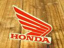 ショッピングホンダ ステッカー ホンダ 車 アメリカン おしゃれ バイク ヘルメット かっこいい カーステッカー HONDA ウイング レッド 右向き 【メール便OK】_SC-R341-TMS