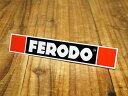 ショッピングFERODO ステッカー 車 アメリカン おしゃれ バイク ヘルメット かっこいい カーステッカー FERODO フェロード 【メール便OK】_SC-R622-TMS