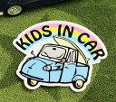 ショッピングDSi KIDS IN CAR ステッカー 車 子供 アメリカン 子供乗ってます おしゃれ かっこいい オート三輪 サイズM 【メール便OK】_SC-BIM10-LFS