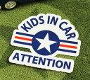 ショッピングFORCE KIDS IN CAR ステッカー 車 子供 アメリカン 子供乗ってます おしゃれ かっこいい US AIR FORCE サイズM 【メール便OK】_SC-BIM12-LFS