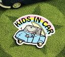ショッピングDSi KIDS IN CAR ステッカー 車 子供 アメリカン 子供乗ってます おしゃれ かっこいい オート三輪 サイズS 【メール便OK】_SC-BIS10-LFS