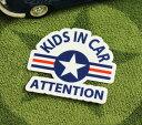 ショッピングFORCE KIDS IN CAR ステッカー 車 子供 アメリカン 子供乗ってます おしゃれ かっこいい US AIR FORCE サイズS 【メール便OK】_SC-BIS12-LFS