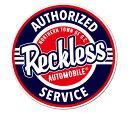 ステッカー アメリカン 車 バイク アウトドア おしゃれ かっこいい 面白い パロディ ビュイック BUICK アメ車 GM BADASS STICKER SUPPLY 【メール便OK】_SC-BSS061-RGH