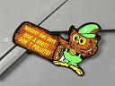 ステッカー ウッディ・アウル 車 バイク アメリカン かっこいい カーステッカー キャラクター 動物 フクロウ WOODSY O…