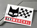 ショッピング ステッカー セブ・マーシャル 車 アメリカン かっこいい カーステッカー 猫 ライト S.E.V. MARCHAL 【メール便OK】_SC-MS115-FEE