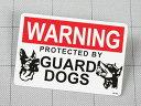 ステッカー アメリカン ウォールステッカー おしゃれ かっこいい 世田谷ベース インテリア 表示 案内 サイン 防犯 危険 番犬注意 【メール便OK】_SC-SS08-SHO