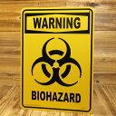 ショッピングPSP サインプレート 看板 サインボード 標識 バイオハザード BIOHAZARD 警告 アメリカ アメリカン雑貨_SP-CA43-SHO