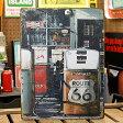 サインプレート アンティーク 看板 サインボード ルート66 ガレージ ガソリンスタンド ROUTE66 GAS PUMP サイズM アメリカ アメリカン雑貨_SP-Z5362-FEE(05P03Dec16)