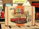 サインプレート アンティーク 看板 サインボード ガレージ アメ車 ルート66 ROUTE66 MAP サイズS アメリカ アメリカン雑貨 【メール便O..