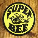 ステッカー 車 スーパー ビー ダッジ アメリカン おしゃれ バイク ヘルメット かっこいい アメ車 カーステッカー 復刻 DODGE SUPER BEE 【メール便OK】_SC-DD053-MON