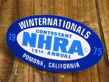 车和室内装饰的标签向tune!标签 NHRA(全米高性能汽车协会)/1975年[ステッカー(シール、デカール) NHRA(全米ホットロッド協会) 1975年_SC-DZ174-MON]