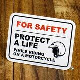 美国的室内装饰的小技巧!气氛变化!签字&标签迷你标签/「乘坐时摩托车穿着头盔」[アメリカンインテリアの小技!雰囲気変わります!サイン&ラベルミニステッカー/「バイクに乗る時はヘルメットを着用」]