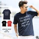 ◆ロゴプリントTシャツ◆Tシャツ メンズ おしゃれ ティーシャツ 半袖 カットソー トップス メンズファッション サーフ系 春 春服 春物 夏 夏服 夏物