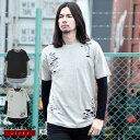 ◆SEANA(シーナ)ダメージアンサンブルロングTシャツ◆ロ...