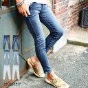 ◆roshell(ロシェル)スーパーストレッチスキニーデニムパンツ◆スキニー ジーンズ スキニーパンツ メンズ デニム ストレッチ スリム パンツ ボトムス メンズファッション