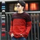 ◆シャギークルーニット◆ニット セーター ニットセーター メ...