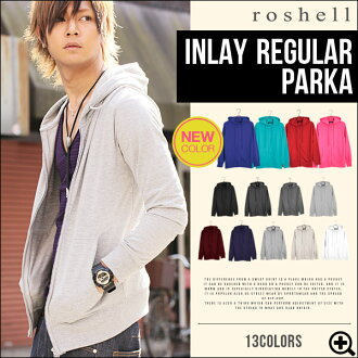 ◆Roshell Plain Parker◆Hoodie men's hoodies long sleeve zip parka men'sfashion Men's parka plain women's S/M/L/XL/size