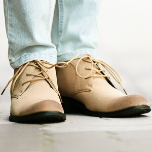 【送料無料】メンズブーツメンズブーツ◆roshell(ロシェル)チャッカブーツ◆スウェードスエードショートブーツブラックメンズシューズ冬靴革靴メンズファッションお兄系ビター系Bitterエンジニアブーツデザートブーツ