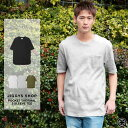 ◆ポケット付き サーマル5分袖TEE◆ロング丈 Tシャツ メンズ カットソー ポケット おしゃれ