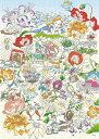 EPO-74-004 ディズニー Floral Daydream(フローラルデイドリーム)(不思議の国のアリス) 500ピース ジグソーパズル [CP-PD] パズル デコレーション パズデコ Puzzle Decoration 布パズル ギフト プレゼント