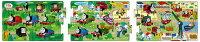 APO-24-116 きかんしゃトーマス きかんしゃトーマスせんろをつなげて1 8+12+16ピース パノラマパズル パズル Puzzle 子供用 幼児 知育玩具 知育パズル 知育 ギフト 誕生日 プレゼント 誕生日プレゼント