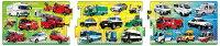 APO-24-118 乗り物 サイレンカー 10+15+20ピース パノラマパズル パズル Puzzle 子供用 幼児 知育玩具 知育パズル 知育 ギフト 誕生日 プレゼント 誕生日プレゼント